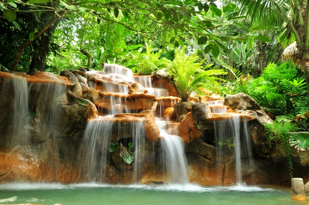 Tabacon Resort Hot Springs in Arenal